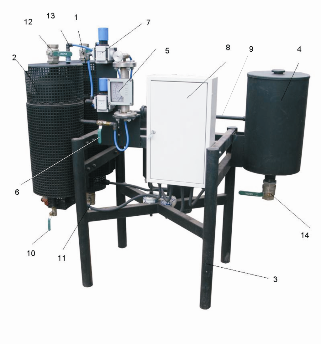 Laboratory bitumen emulsion plant (UVB-1-L)