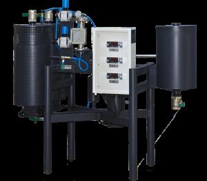 Лабораторни инсталации за производство на битумни емулсии УВБ-1-Л