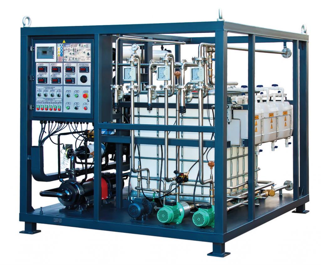 Uređaj za pripremu bitumenske emulzije, kapaciteta 2 m³/h