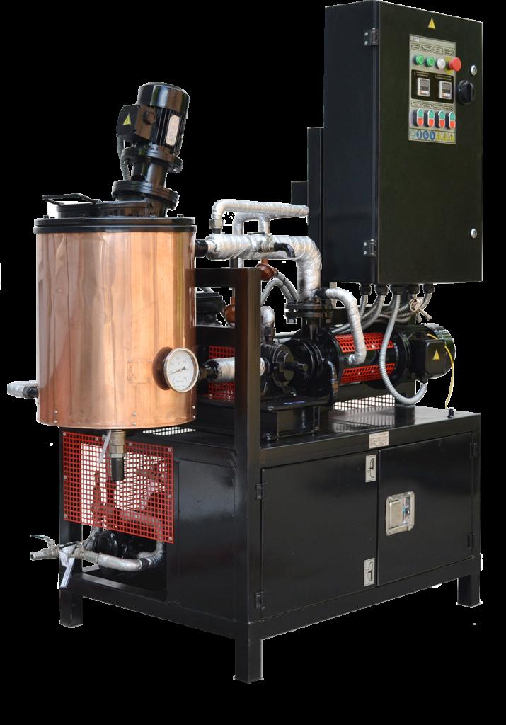 Лабораторна инсталация за производство на модифициран битум УВБ-2-Л