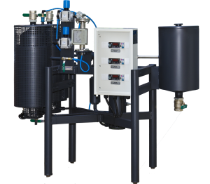 A bitumen emulzió előállítására szolgáló laboratóriumi berendezések