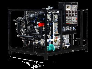 Zařízení na výrobu bitumenových emulzí UVB-1 (1 m3/ hod)