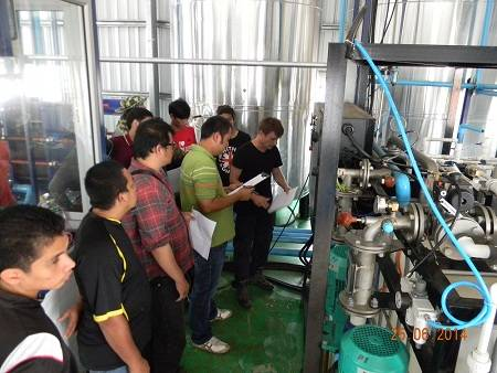 GlobeCore Specialists Successfully Commission a Bitumen Emulsion Plant in Thailand