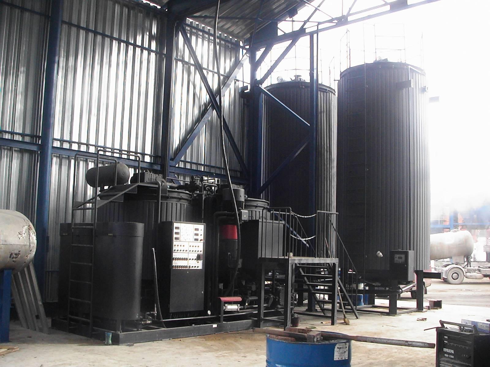 Benefits of Polymer Modified Bitumen Plants