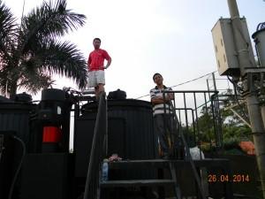 U Vijetnamu je pušteno u rad i uspešno radi postrojenje UVB 2.