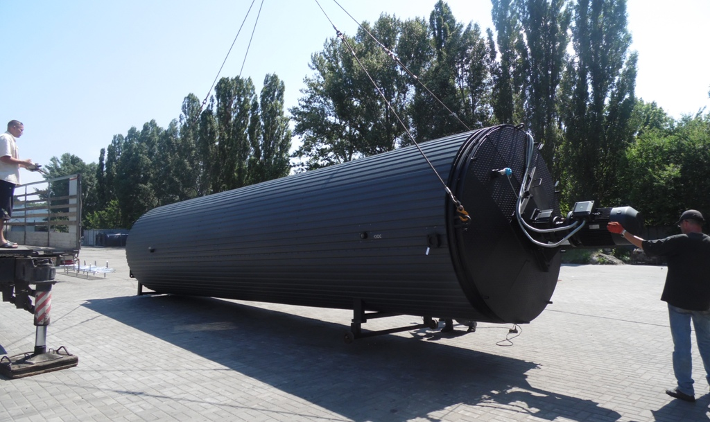 Upgraded Design of Modified Bitumen Storage Tank