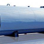 Horizontal Bitumen Storage Tank