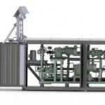 Modernization of the UVB-2 unit (20 m³/h) reduced the set up time